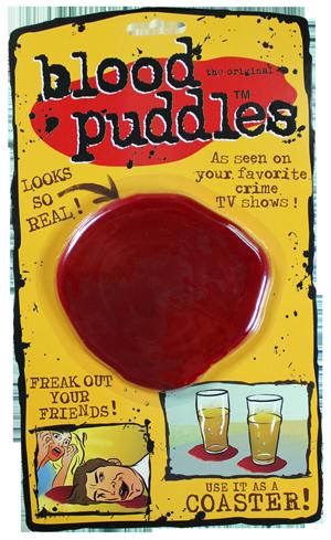 Blood puddles